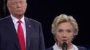 Hillary Clinton Says Her 'Skin Crawled' When Trump Stood Behind Her