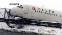 NTSB Investigates Cause Of Delta Accident At LaGuardia Airport