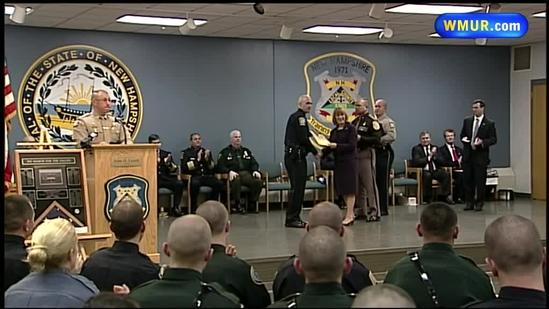 Maloney remembered at police academy graduation