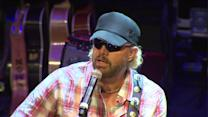 Toby Keith celebrate `Toby Keith Day` in Illinois
