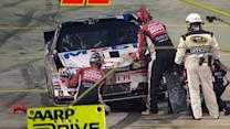 Restart gone wrong leads to damage for Burton, Stewart, Keselowski