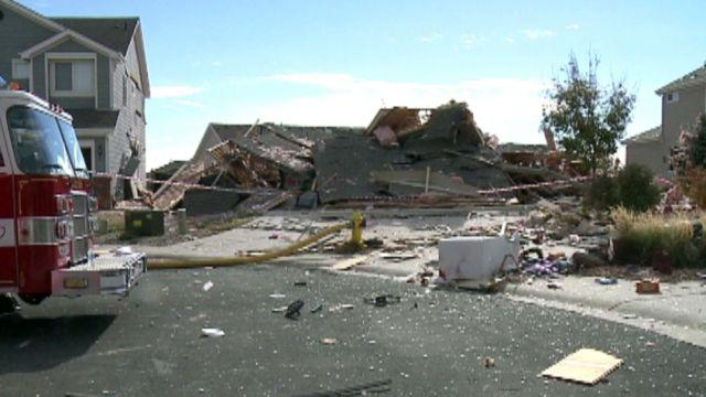 Massive explosion rips through Colorado home