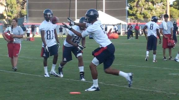 Arizona Fall Camp Close-up: Practice 2
