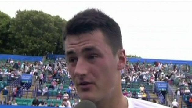 Venus pulls out, Tomic finds form