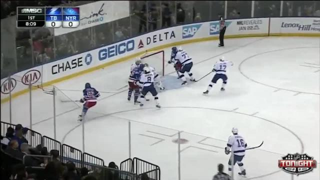 Tampa Bay Lightning at NY Rangers Rangers - 01/14/2014