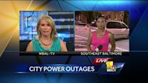 Residents suffer through heat during power outage