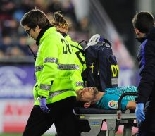 Barcelona's Busquets suffers ankle ligament damage
