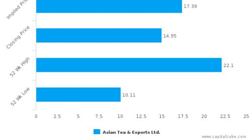 Asian Tea & Exports Ltd. : Undervalued relative to peers, but don't ignore the other factors