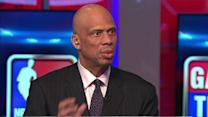 Kareem on Kobe
