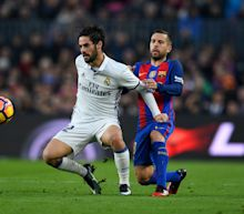 Jordi Alba would welcome Barcelona shock signing of Isco from Real Madrid