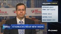 Starbucks a hold on valuation: Analyst