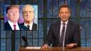 Seth Meyers on Why Trump Fears Robert Mueller's Congressional Testimony