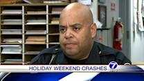 Holiday crashes lead to serious injuries