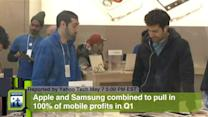 Apple and Samsung Combined to Pull in 100% of Mobile Profits in Q1