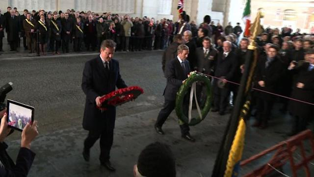 Cameron, Kenny tour WWI sites, deepening Anglo-Irish ties