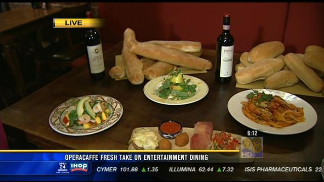Cafe offering taste of Italy & opera
