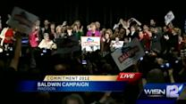 RAW: Tammy Baldwin acceptance speech