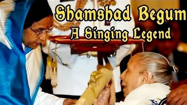 Shamshad begum-A singing Legend-Hindi Cinema