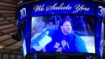Henrik Lundqvist Video Tribute at MSG
