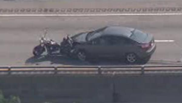 Motorcyclist killed in crash on I-95 identified