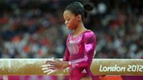 Can Gabby or Aly score gold on the balance beam?