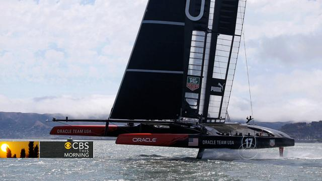 Oracle CEO Larry Ellison defends his quest for the America's Cup