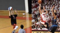 NBA player and son have striking hoops similarities