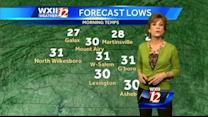 Lanie's Weather: Warmer temps on the way