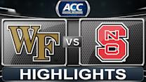 Wake Forest vs NC State | 2014 ACC Basketball Highlights