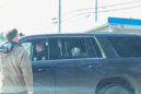 Dog being taken away by police shows absolutely no remorse