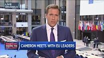 UK's Cameron meets with EU leaders