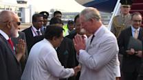 Prince Charles in Sri Lanka for Commonwealth meeting