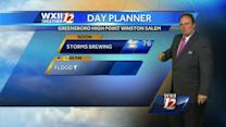 Stormy weather continues for your Tuesday