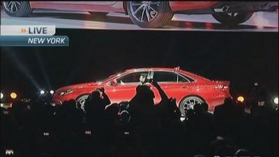 All new Toyota Camry unveiled