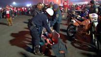 30 arrests during Monday night game at The Stick