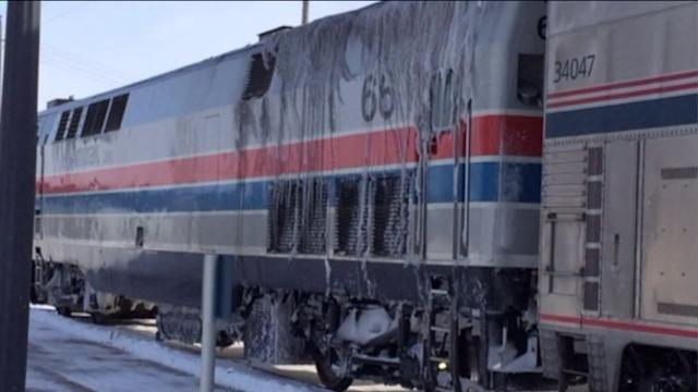 Amtrak passengers are rescued