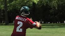 Matt Barkley takes snaps at Eagles rookie camp