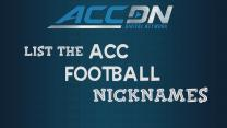 ACC Football Players Take Nickname Quiz