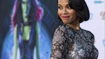 Zoe Saldana's Guardians Of The Galaxy Problem