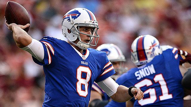 How will Buffalo Bills fill quarterback position?