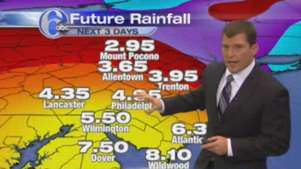 AccuWeather: New track for Hurricane Sandy