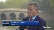 Facebook, Google need to 'step up' control of their platforms, says WPP's Martin Sorrell
