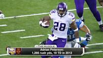 Who's the most valuable running back in the NFL?