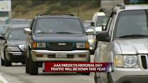AAA Predicts Less Travel Memorial Day Weekend