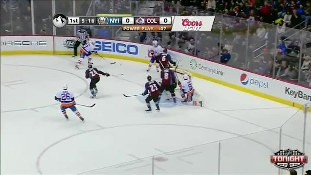 NY Islanders Islanders at Colorado Avalanche - 01/10/2014
