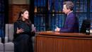 Alexandria Ocasio-Cortez Reveals to Seth Meyers What She'll Do If Biden Beats Bernie