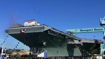 Navy Christens Next Generation Aircraft Carrier