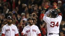 Red Sox Top Cards 8-1 in World Series Game 1