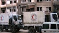 Raw: UN Aid Convoy Attacked in Syria