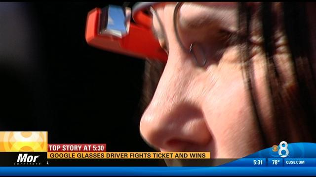 Google Glass driver fights ticket and wins